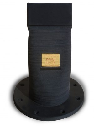 Style 720 Inline flanged rubber check valves