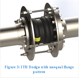 Integral Tie Rod Design with unequal flange