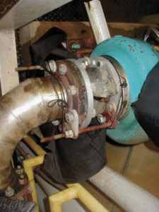 Figure 2: Insulated joint failure