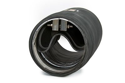 Low Headloss In-Line Rubber Check valve